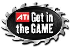 ATI Logo Get in the Game